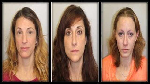 Marco, Laflamme, and Creel were all arrested by Newington Police for prostitution (Newington PD)
