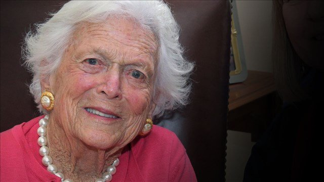 Former First Lady Barbara Bush. (MGN)