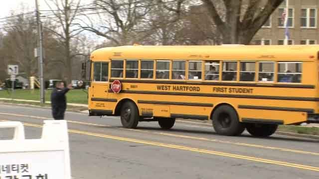 West Hartford families are being asked to weigh in on what time school should start (WFSB)