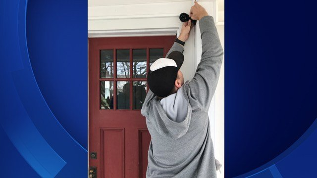 Bristol Police are asking their residences to register cameras to track down criminals (WFSB Photo)