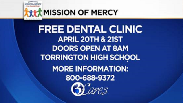 Connecticut Mission of Mercy opens its doors for their 12th year of free dental clinics.