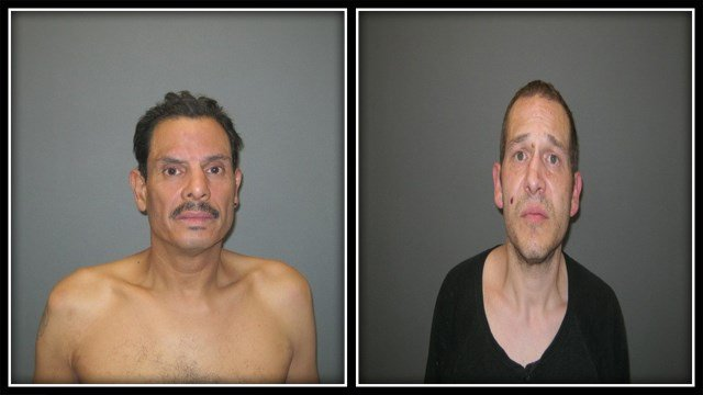 Jamie Pagan (left), David Colon (right) were both arrested by Planfield police for drugs (Plainfield PD)