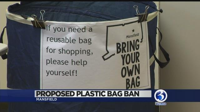 Town of Mansfield wants to ban plastic bags
