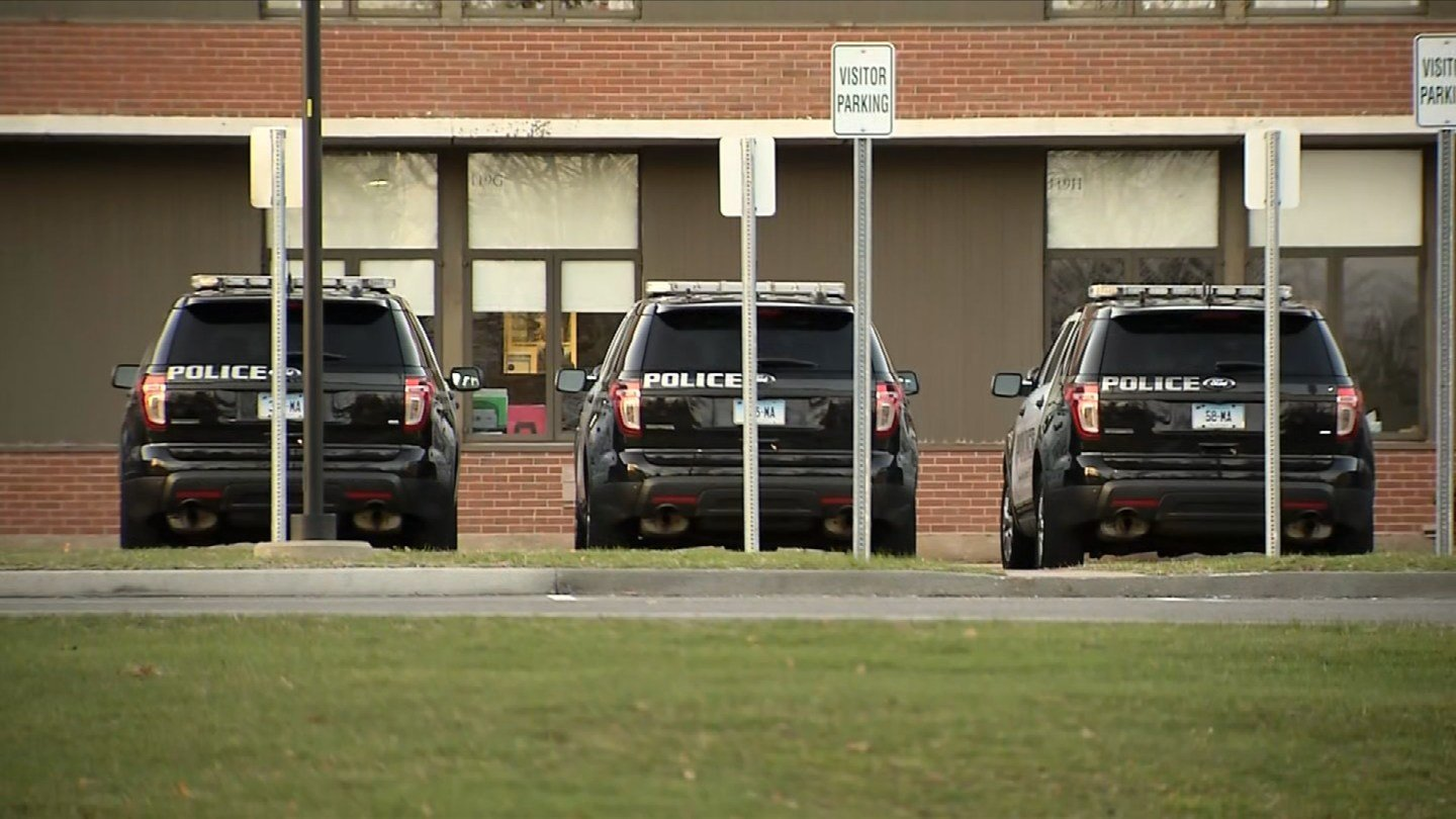 Manchester police increased their presence at the high school after at threat was discovered on two bathroom walls. (WFSB)