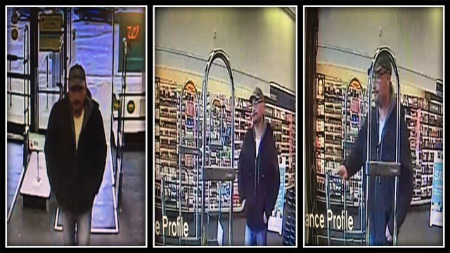 Hamden Police are attempting to identify this man who stole energy drinks from Walgreens (Hamden PD)