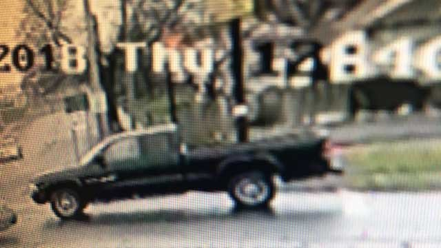 Police are looking for the driver of this truck (Hamden Police)
