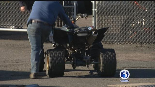 VIDEO: Hartford PD derail ATV and dirt bike activities on Sunday