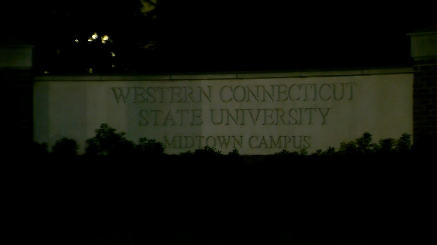 Western Connecticut State University in Danbury was closed on Monday after about 100 students became ill. (WFSB)