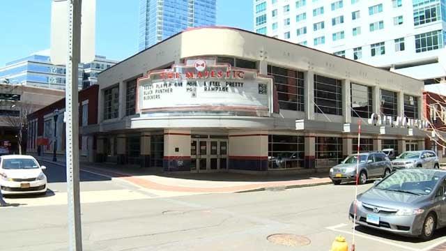 Majestic Movie Theater in Stamford (WFSB)