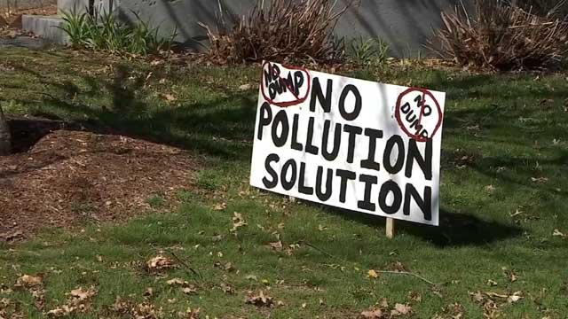 Residents in Rocky Hill are raising concerns over a plan for an old landfill (WFSB)