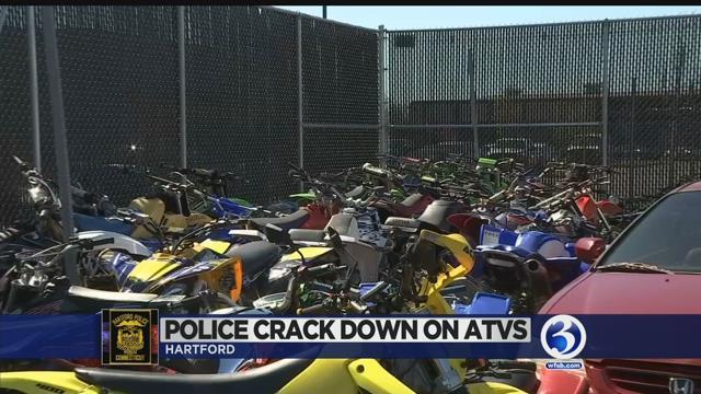 Video: Officers derail illegal ATV, dirt bike riders around capital city