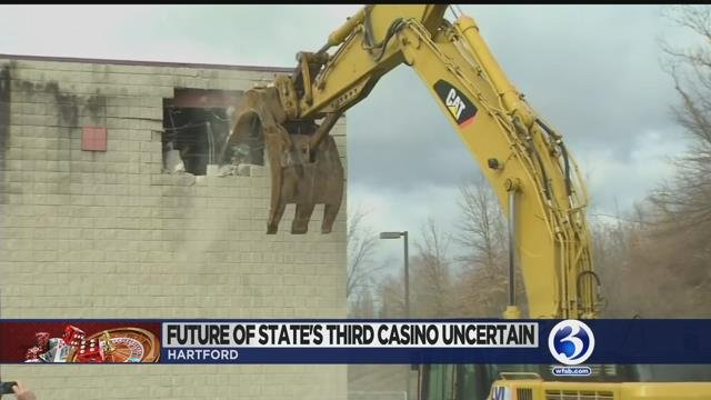 Video: Future of state's third casino remains uncertain
