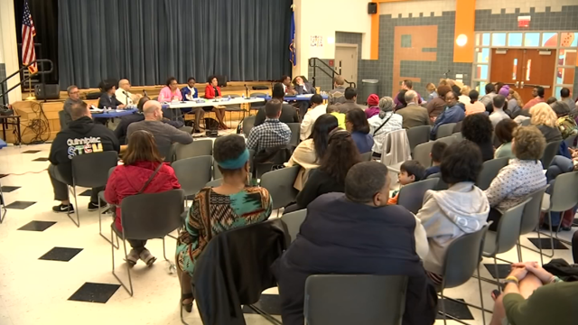 A meeting was held to discuss the school budget in New Haven (WFSB Photo)