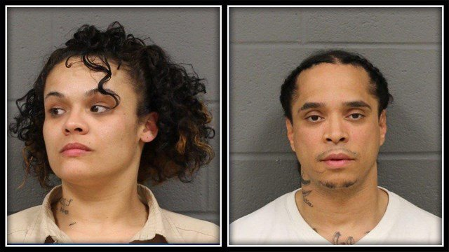 Ana Talavera and Michael Alonso were arrested after an armed home invasion (New Britain PD)