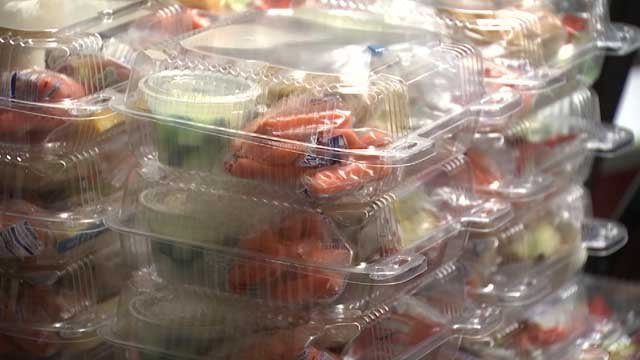 School leaders in Groton are raising money to help students who are in debt for lunches (WFSB)