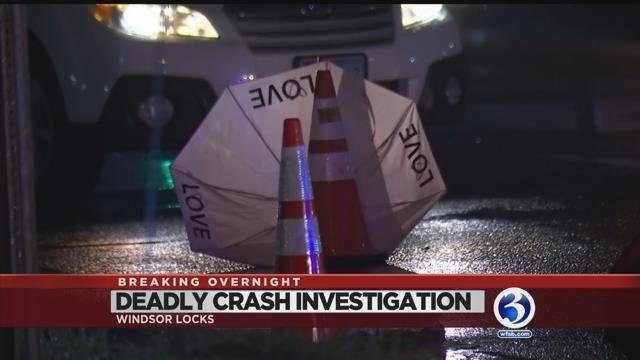 VIDEO: Driver killed trying to help woman he struck in Windsor Locks