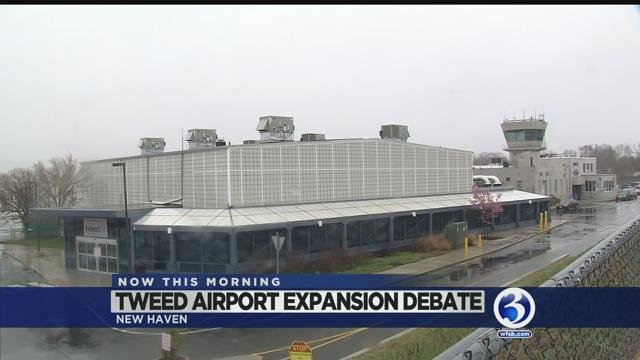 VIDEO: Neighbors say extended Tweed runway doesn't fly with them