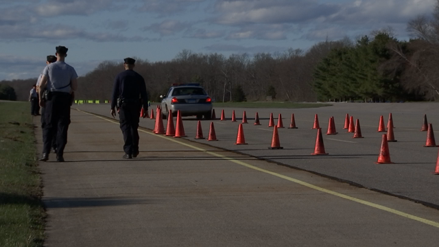 CT State Police recruits take part in driver training tests (WFSB)