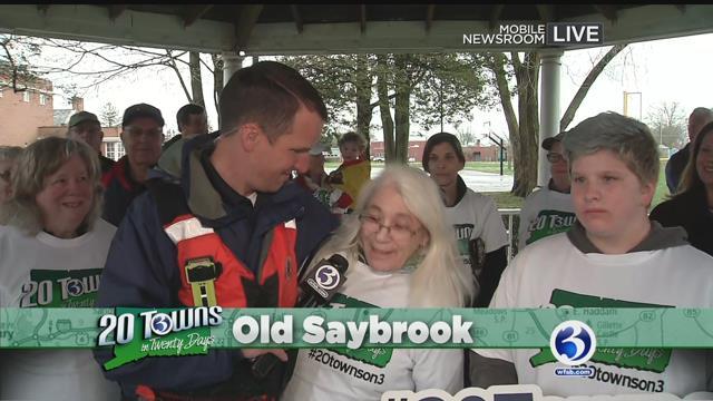 Mark Zinni visits Old Saybrook during 20 Towns in Twenty Days (WFSB)