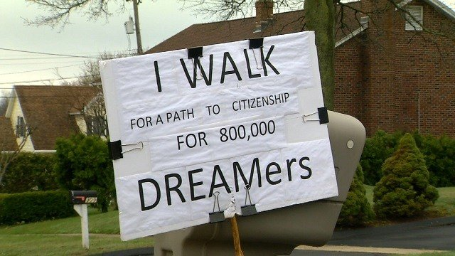 Walking for dreamers (WFSB)