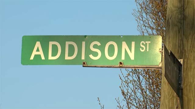 A 25-year-old man was injured in a shooting on Addison Street on Saturday (WFSB)