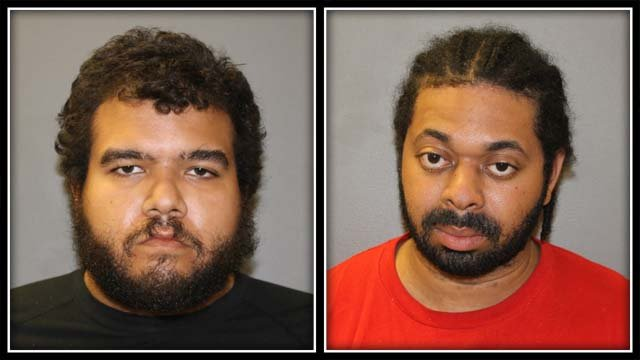 Police arrested Eric Grimes and Brian Badra (Hamden Police)