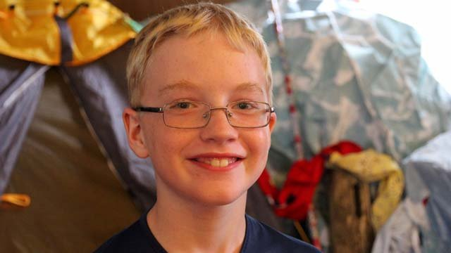 13-year-old Troy is battling Lyme Disease (submitted)