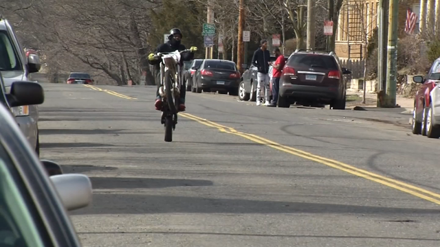 New Haven Police are cracking down on illegal dirt bike and ATV riders (WFSB)