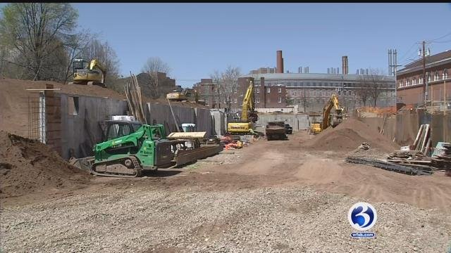 New Haven's downtown development project is underway (WFSB)