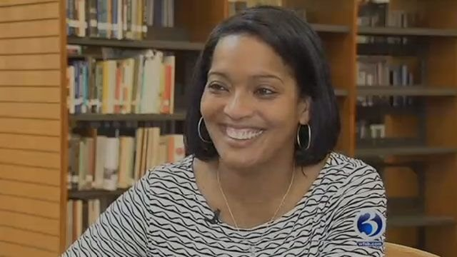 Former CT Teacher of the Year, Jahana Hayes, will be running for Congress (WFSB)