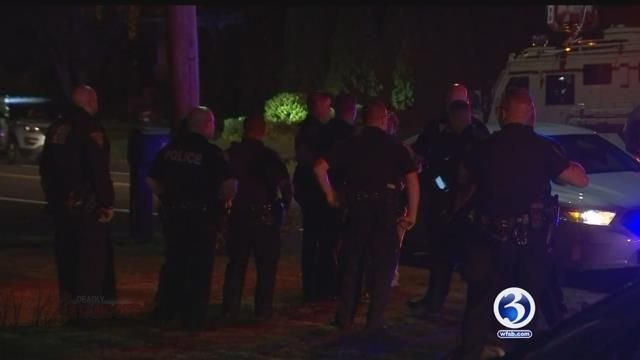 Officers in North Haven worked to negotiate with a man that was barricaded in a home (WFSB)