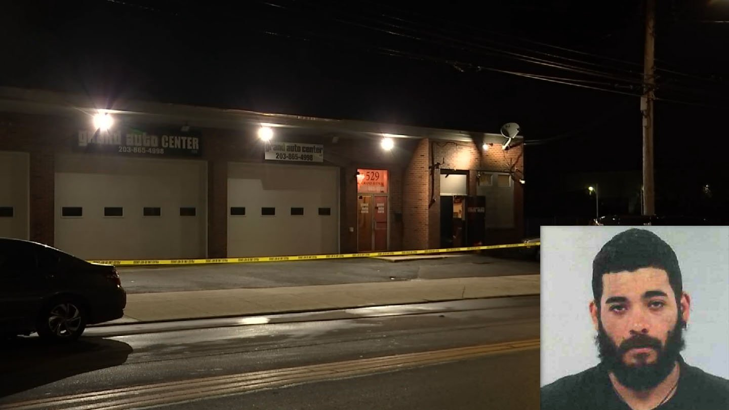 Matthew Bouton faces charges for a shooting in Bridgeport that led investigators to a social club in New Haven. (WFSB/State police)