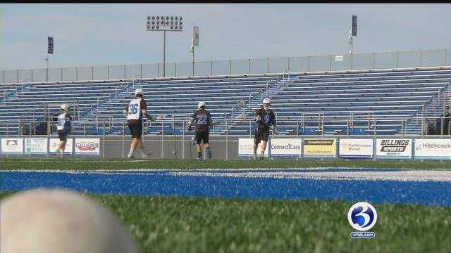 The CCSU men's lacrosse team is headed to nationals in Salt Lake City. (WFSB)