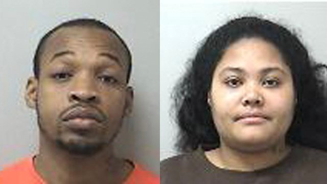 Gustin Douglas and Shakira Rivera were arrested in connection with a year-old Manchester crash that left three people dead. (Manchester police)
