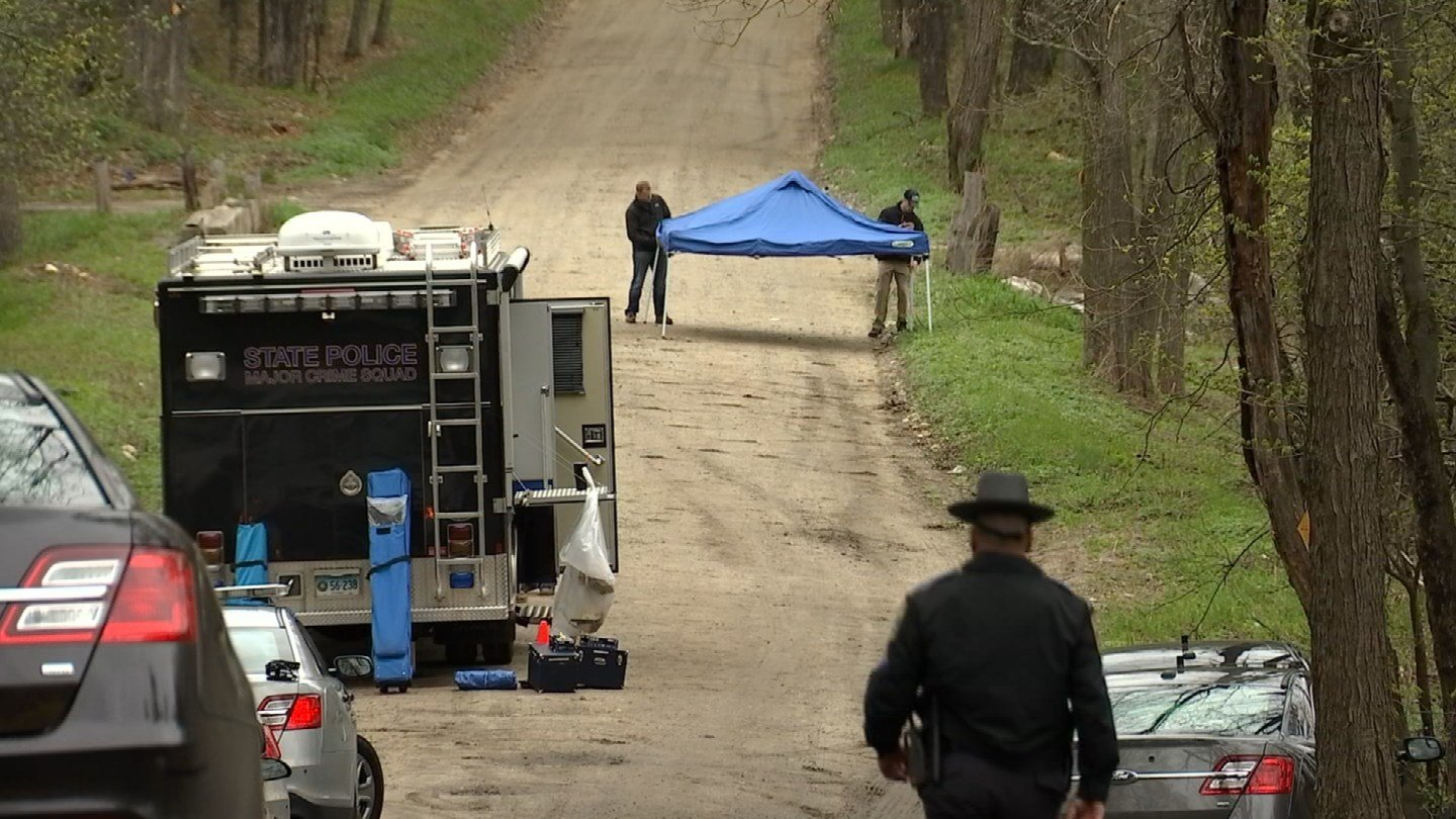 A woman's body was found in a body of water in Burlington over the weekend. (WFSB)