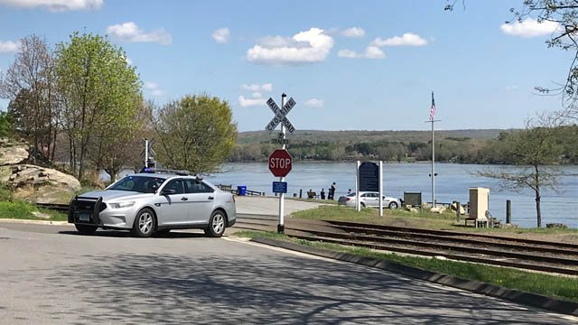 The Deep River landing was closed after a body was found in the Connecticut River on the Essex/Deep River line. (WFSB)