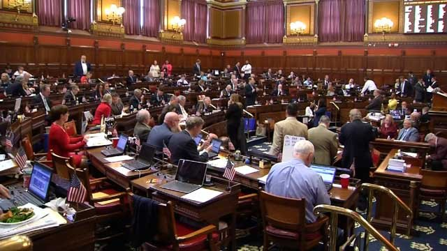 Lawmakers have been discussing a number of items, including the state budget, before the end of the legislative session on Wednesday at midnight. (WFSB)