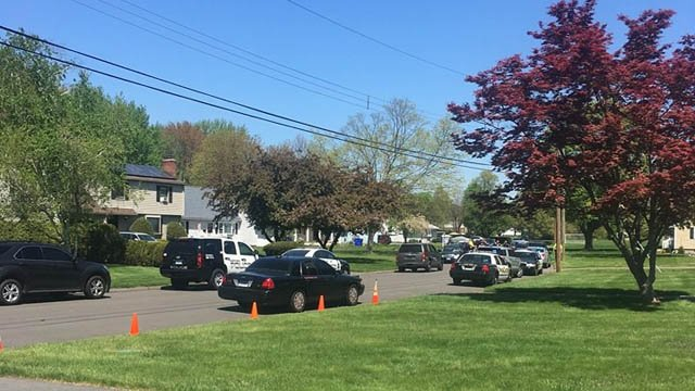Police arrested two drug suspects after a pursuit that began in Hartford and ended in the Caliber Lane area on the Wetherfield/Rocky Hill line. (iWitness)
