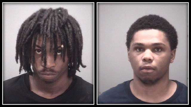Police have arrested these two men accused of a New Haven shooting (New Haven police)