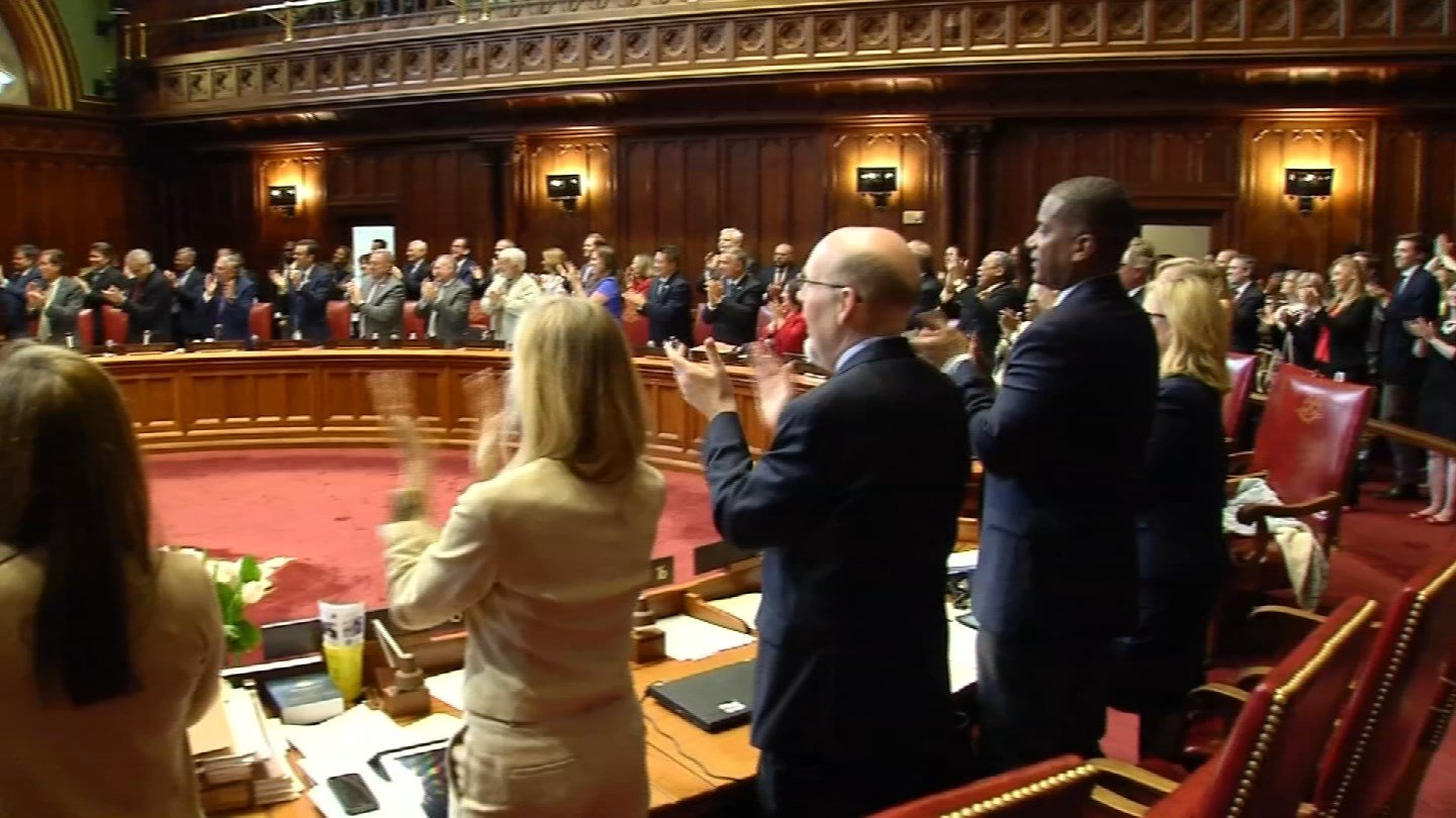 Lawmakers concluded the legislative session early Thursday morning with a bipartisan budget agreement. (WFSB)