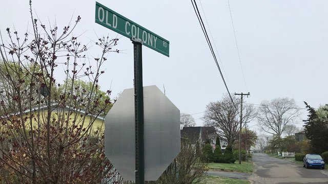 Old Colony Road and George Drive in Old Saybrook were the areas where police said vehicle burglaries were reported. (WFSB)