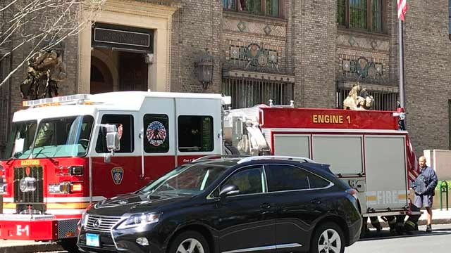 An electrical fire forced DEEP do send its Hartford employees home for the day on Thursday. (WFSB)