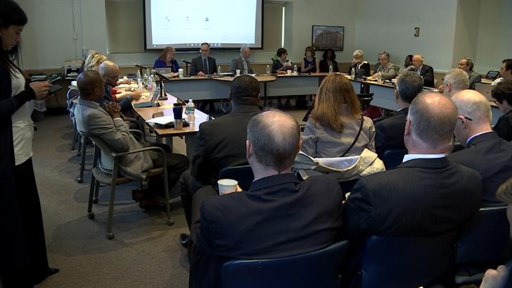 CSCU members held a meeting on Thursday (WFSB)