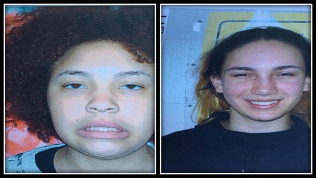 Silver Alerts were issued for Hazel Porter (left) and Angelina LaFlemme (right) in Middletown (Middletown PD)