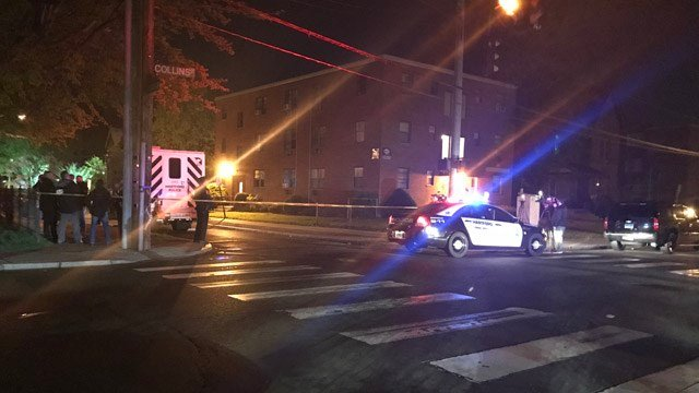 A teen was killed in a shooting on Huntington Street in Hartford. (WFSB)