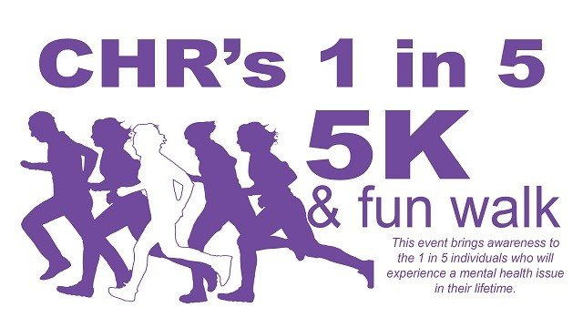 Join 3 Cares in supporting CHR's 1 in 5: 5K during Mental Health Awareness month