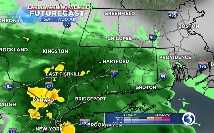 Saturday's FutureCast (WFSB)