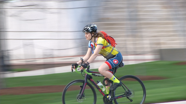 UConn student prepares cross country bike ride for charity (WFSB)