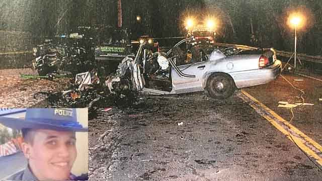 Trooper was drunk, speeding in deadly crash
