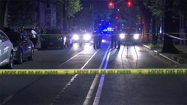 Person shot on Orchard Street in New Haven (WFSB)